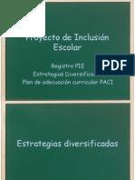 Estrategias diversificadas