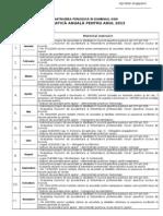 Tematica de Instruire Periodica SSM 2013 Transporturi