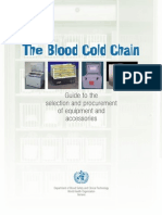 Blood Cold Chain