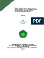 Penerapan Model Pembelajaran Ctl (Contextual