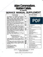 Holden Commodore Engine Control Module Information