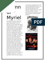 Domnul Myriel Din Romanul Mizerabilii de Victor Hugo