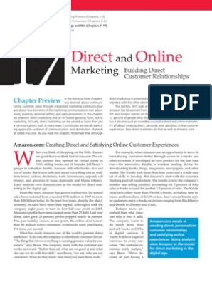 Chapter 17 Direct and Online Marketing | Direct Marketing