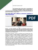 Fábio Konder Comparato entrevista esclarecedora sobre nossa falsa democracia
