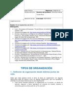 Tarea 1-Tipos de Organizaciones