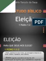 ESTUDO BÍBLICO - ELEIÇÃO PARTE1