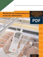 Medicion de Temperatura en Alimentoss