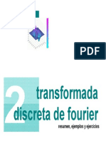 Transformada Discreta de Fourier Resumen