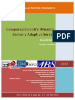 Comparacion de Dynamic Con Adaptive