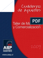 Taller de Marketing y Comercializacion Ean257