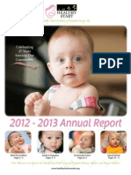 2013 Annual Report - Healthy Start Coalition of Sarasota County