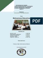 trabajoescritomotivacioneseducativas-120922103317-phpapp02