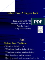 Diabetic Foot Surgical Look