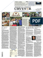 Berthoud Weekly Surveyor October 10, 2013 Oktoberfest Cover