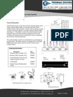 Walchem Pump Remote Cable Assembly Instructions