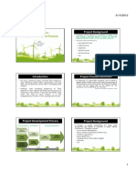 2. Unit 1 Handouts - Introduction Into Projects and Project Finance