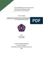 Perencanaan Keseimbangan Lintasan Guna Meningkatkan Efisiensi Kerja (Study Kasus Pt.karyamitra Budisentosa)