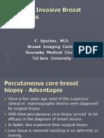 Minimal Invasive Breast Procedure