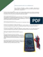 Medicion e Instrumentacion a circuitos