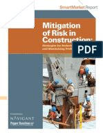 Mitigation of Risk in Construction SMR 2011