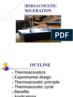 THERMOACOUSTIC REFRIGERATION ppt