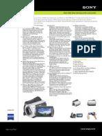 Sony DCR-SR45 Spec