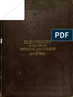 Electricity in Its Relations to Medicine and Surgery by a. D. Rockwell