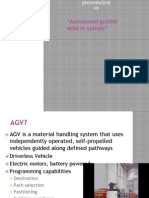 Automated Guided Vehicle System ppt