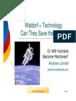 Waldorf and Technology