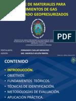 BALANCE DE MATERIALES PARA YACIMIENTOS DE GAS CONDENSADO GEOPRESURIZADOS.