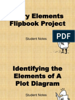 Story Elements Flipbook Project Notes