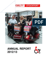 Shopmobility Stockport Annual Report 2012-13