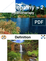 Naturopathy 02 Hydrotherapy(I)