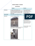 Social Worker Report - Karansi Tanzania - September 2013