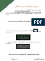 03 Tutorial Calculo de Media e Desvio Padrao Casio Fx-82MS