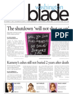 Washingtonblade.com, Volume 43, Issue 41, October 11, 2013