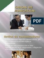 Tecnicas de comunicación efectiva