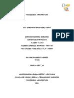 Procesos de Manufactura Producto Final