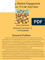 Action Research on Student Engagement