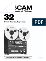 TASCAM 32 Manual