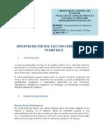INTERPRETACIÓN DEL ELECTROCARDIOGRAMA PEDIÁTRICO