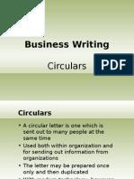drafting a Circular