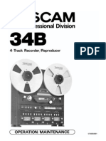 Tascam 34b Manual