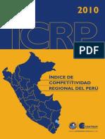 Indice de Competitividad Regional Peru 2010