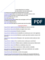 Comandos Basicos IRC