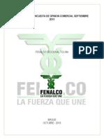 Informe de Opinion Comercial- SEPTIEMBRE 2013