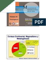 01. Subducción y magmatismo andino