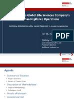 2013 OHSUG - Facilitating Pharmacovigilance Globalization with Process Reengineering