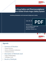 2013 OHSUG - Merging Multiple Drug Safety and Pharmacovigilance Databases into One Global Oracle Argus Safety System