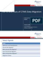 2013 OHSUG - The Ins and Outs of CTMS Data Migration